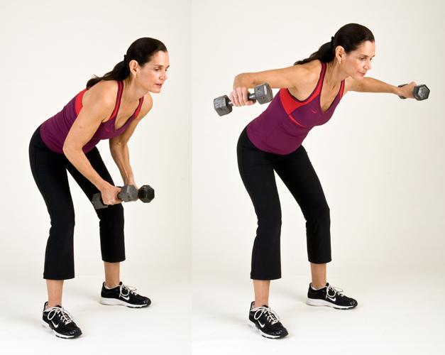 elevación de brazo con mancuernas para la grasa en las axilas